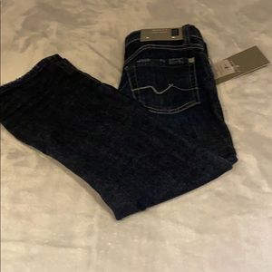 7 for all mankind boys dark blue jeans 👖 size 5T